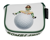 Bombs Away! Embroidered Putter Cover - XL Mallet
