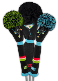 Just 4 Golf: Loudmouth Tee Many Martoonies Headcover Set