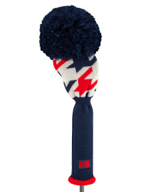 Just 4 Golf: Loudmouth Driver Headcover - Red Blue Tooth