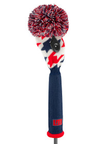 Just 4 Golf: Loudmouth Fairway Headcover - Red Blue Tooth