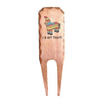 Sunfish: Forged Copper Divot Tool - I'd Hit That! Piñata