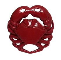 ReadyGolf: 3D Crab Ball Marker & Hat Clip