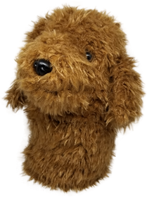 Labradoodle / Chocolate Doodle Dog- Driver Headcover by ReadyGOLF