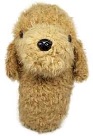 Labradoodle / Golden Doodle Dog- Driver Headcover by ReadyGOLF