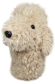 Blonde Labradoodle / Doodle Dog - Driver Headcover by ReadyGOLF