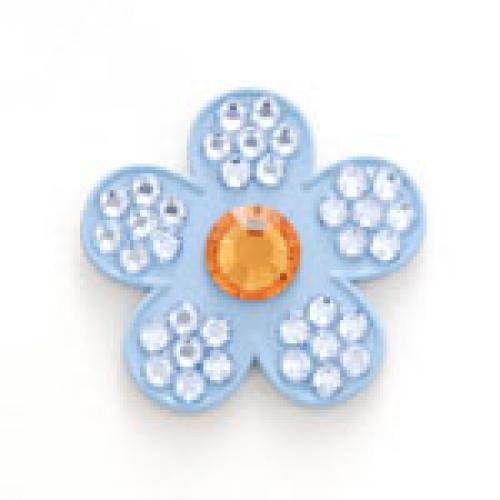 Bonjoc: Ball Marker & Hat Clip - Pixie Flower