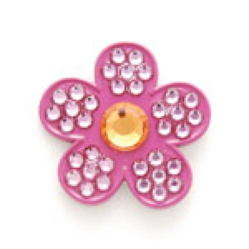 Bonjoc Flower Ball Marker & Hat Clip - SWEET PEA