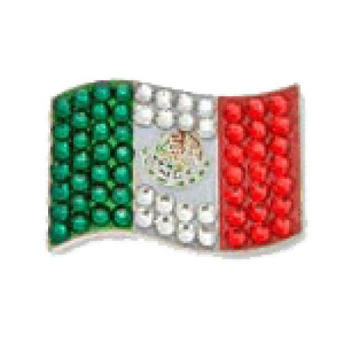 Bonjoc Flag Ball Marker & Hat Clip - MEXICO