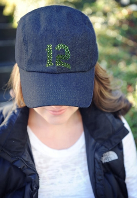 Dolly Mama: Ladies Baseball Hat - 12th Man