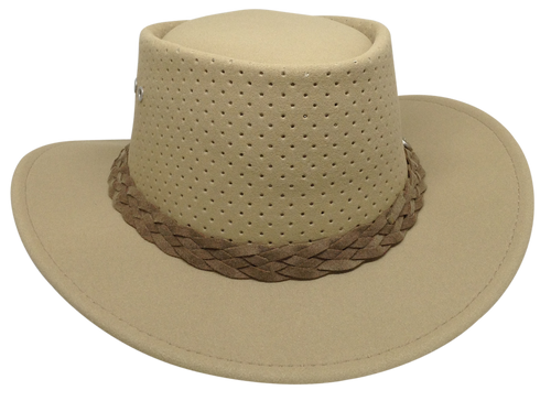 ed0e3b3c4 Aussie Chiller Outback Bushie Perforated Hat - Blonde