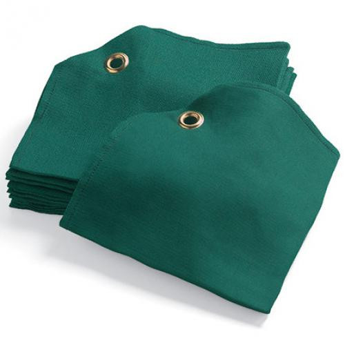 PAR AIDE Corner Grommet Cotton Tee Towels - 12 pack