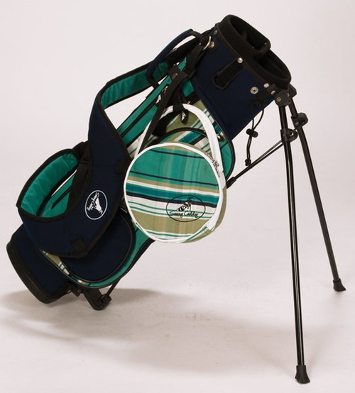 Sassy Caddy: Junior Stand Bag - Preppy