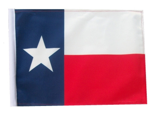 SSP Flags: 11x15 inch Golf Cart Replacement Flag - Texas