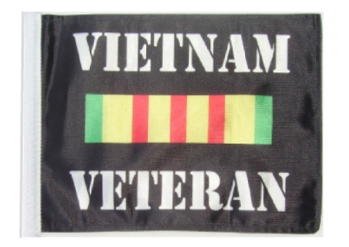 SSP Flags: 11x15 inch Golf Cart Replacement Flag - Vietnam Veteran