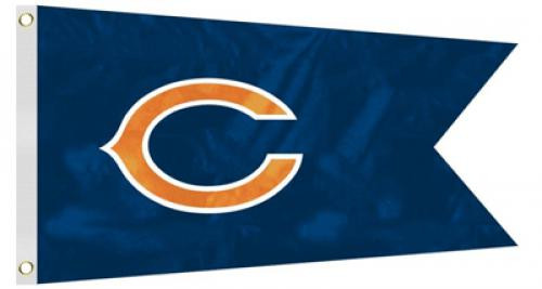Bag Boy: NFL Pennant 12' x 18' Golf Cart Flag - Chicago Bears