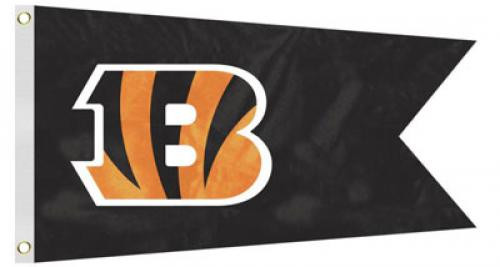 Bag Boy: NFL Pennant 12' x 18' Golf Cart Flag - Cincinnati Bengals