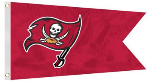 Bag Boy: NFL Pennant 12' x 18' Golf Cart Flag - NFL Tampa Bay Buccaneers
