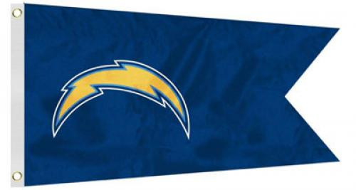 Bag Boy: NFL Pennant 12' x 18' Golf Cart Flag - San Diego Chargers