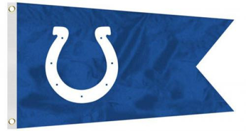 Bag Boy: NFL Pennant 12' x 18' Golf Cart Flag - Indianapolis Colts