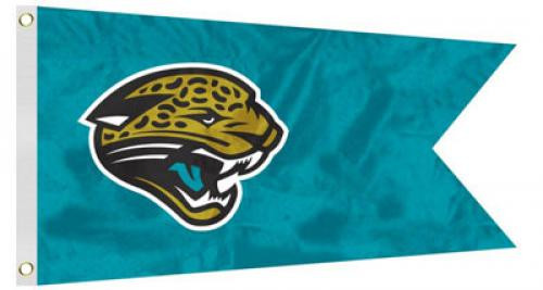 Bag Boy: NFL Pennant 12' x 18' Golf Cart Flag - Jacksonville Jaguars