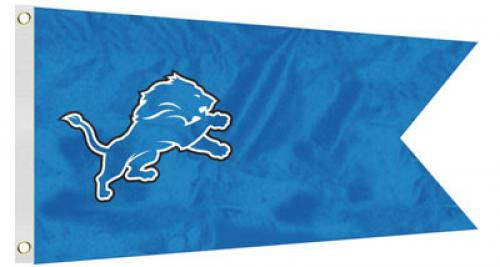 Bag Boy: NFL Pennant 12' x 18' Golf Cart Flag - Detroit Lions