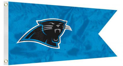 Bag Boy: NFL Pennant 12' x 18' Golf Cart Flag - Carolina Panthers