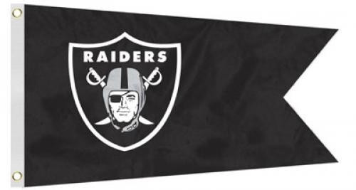 Bag Boy: NFL Pennant 12' x 18' Golf Cart Flag - Oakland Raiders