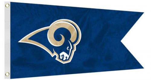 Bag Boy: NFL Pennant 12' x 18' Golf Cart Flag - Los Angeles Rams