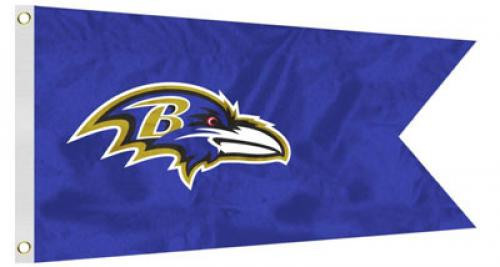 Bag Boy: NFL Pennant 12' x 18' Golf Cart Flag - Baltimore Ravens