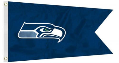 Bag Boy: NFL Pennant 12' x 18' Golf Cart Flag - Seattle Seahawks