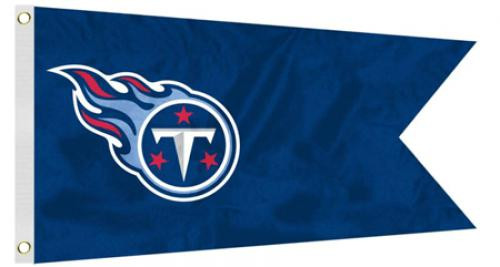 Bag Boy: NFL Pennant 12' x 18' Golf Cart Flag - Tennessee Titans