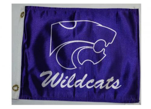 Bag Boy: Collegiate 11' x 14' Golf Cart Flag - Kansas State Wildcats