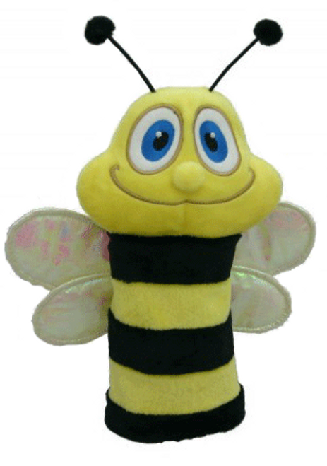 Daphne's HeadCovers - Bumble Bee Hybrid Golf Club Cover