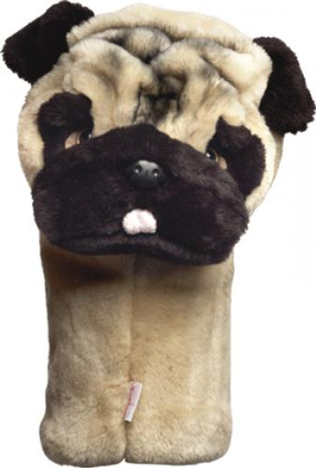 Daphne's HeadCovers: Pug Dog Golf Club Cover
