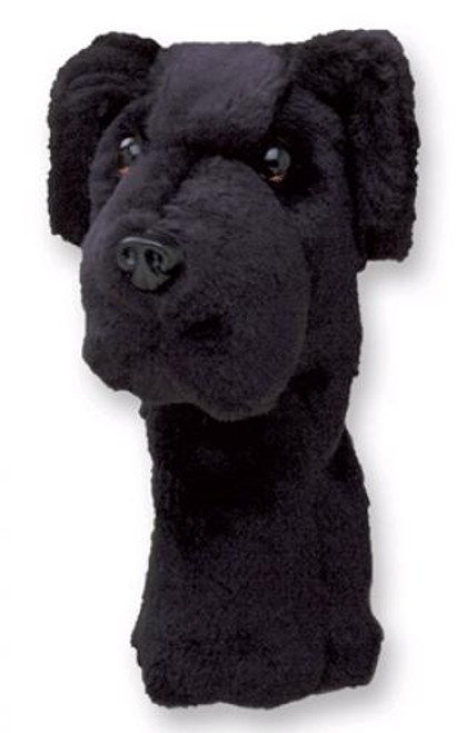 Daphne's HeadCovers: Black  Lab / Labrador Dog Golf Club Cover
