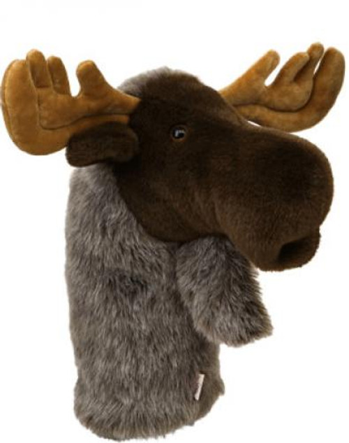 Daphne's HeadCovers: Moose Golf Club Cover
