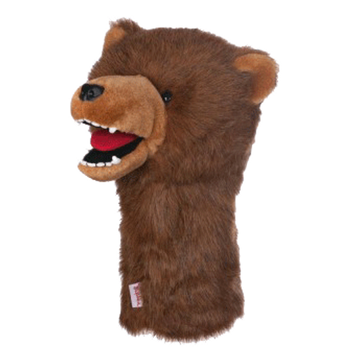 Daphne's HeadCovers: Grizzly Bear Golf Club Cover