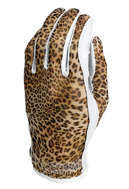 Evertan: Women's Tan Through Golf Glove - Ocelot