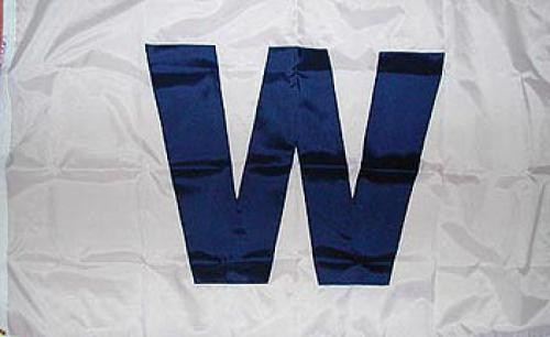 Chicago Cubs - Wrigley Field 'W' Flag 3' x 5'