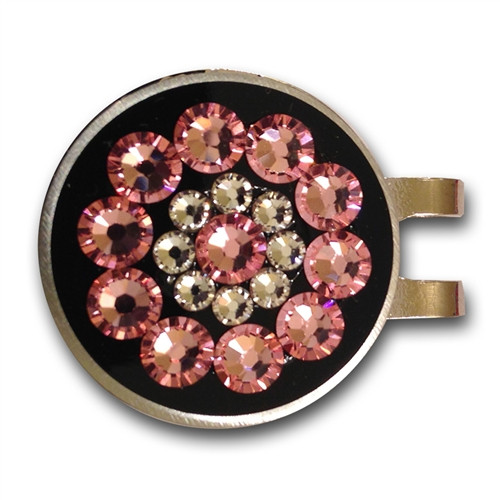 Blingo Ball Markers: Pink on Black