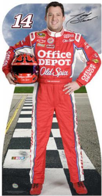Team Image: Lifesize Cardboard Cutout - Tony Stewart #14 Office Depot