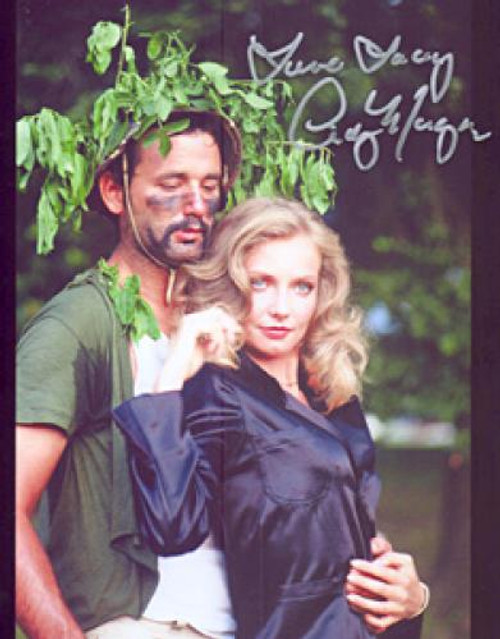 "Cindy Morgan ""Lacey Underall"" Signed Caddyshack 8x10 Photo - Lacey/Carl Press Kit"