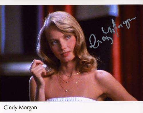 """Cindy Morgan """"Lacey Underall"""" Signed 8x10 Caddyshack Photo - Dinner Time"""