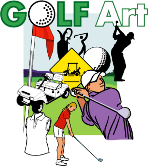 ReadyGolf: AdArt: Golf Art: Clip Art for Golf