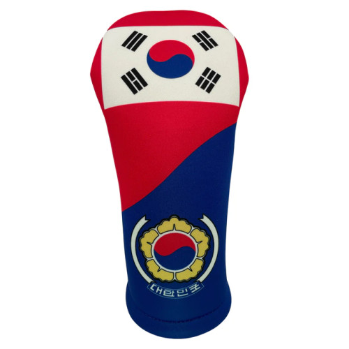 BeeJos: Golf Head Cover - Flag of South Korea
