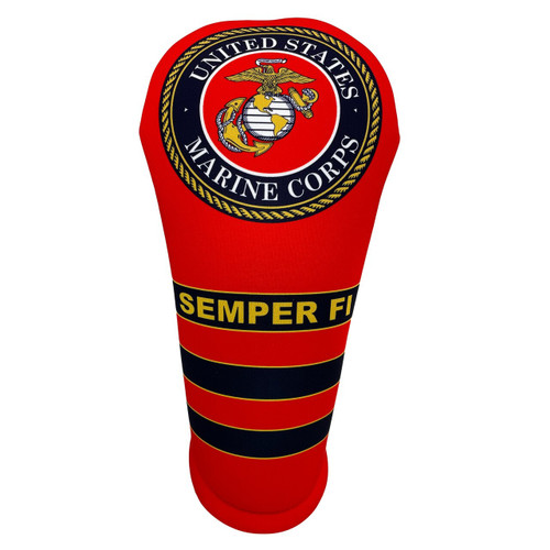 BeeJos: Golf Head Cover - United States Marine Corps (Classic Red)