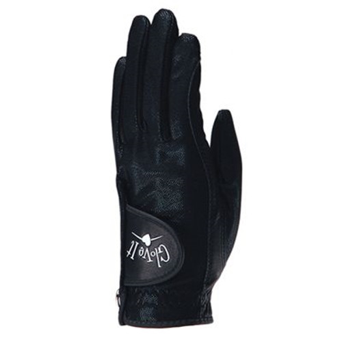 Glove It: Golf Glove - Black Clear Dot