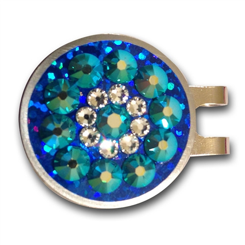 Blingo Ball Markers: Blue Shimmer