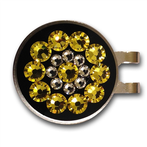 Blingo Ball Markers: Yellow on Black