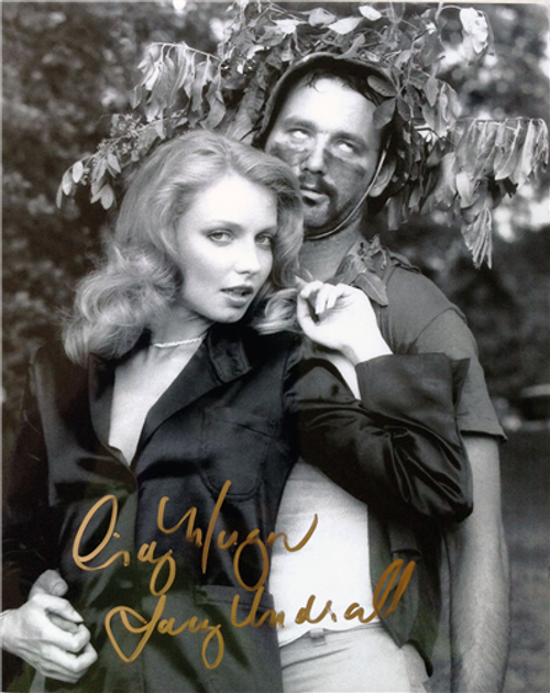 "Cindy Morgan ""Lacey Underall"" Signed 8x10 Caddyshack Photo - Lacey & Carl"